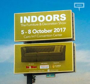 Al-Ahram launches OOH campaign to advertise Indoors Expo