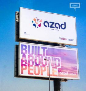 Tameer launches AZAD with OOH branding campaign