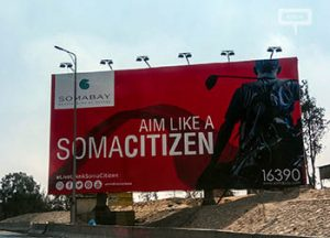 Somabay evolves outdoor campaign