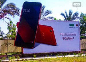 OPPO launches F3 FCB Limited Edition in Egypt