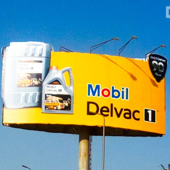 Mobil launches OOH campaign for Delvac 1