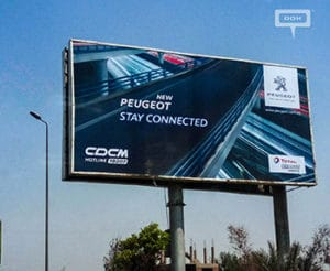 New teaser campaign from Peugeot Egypt