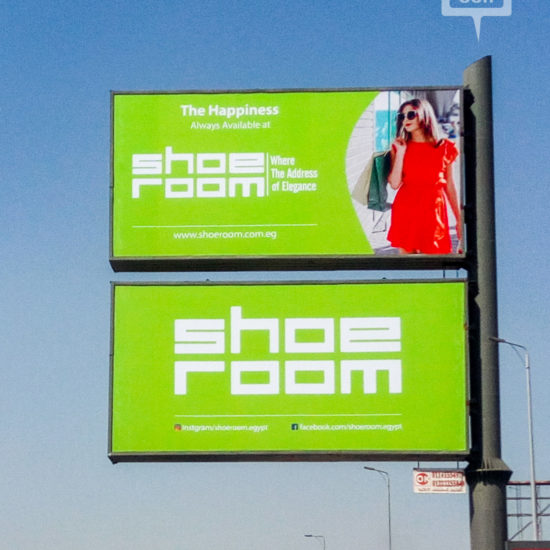 New OOH campaign from Shoeroom