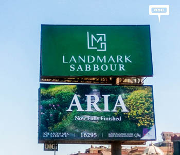 Sabbour brings ARIA back to the billboards of Greater Cairo