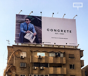 CONCRETE'S brand ambassadors for the spring collection