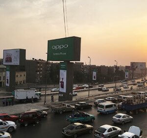 OPPO launches [F1S] from Cairo with a new OOH strategy