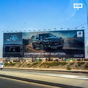 BMW launches OOH campaign for X5 model