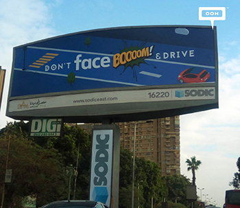 SODIC raises awareness about road safety with new OOH