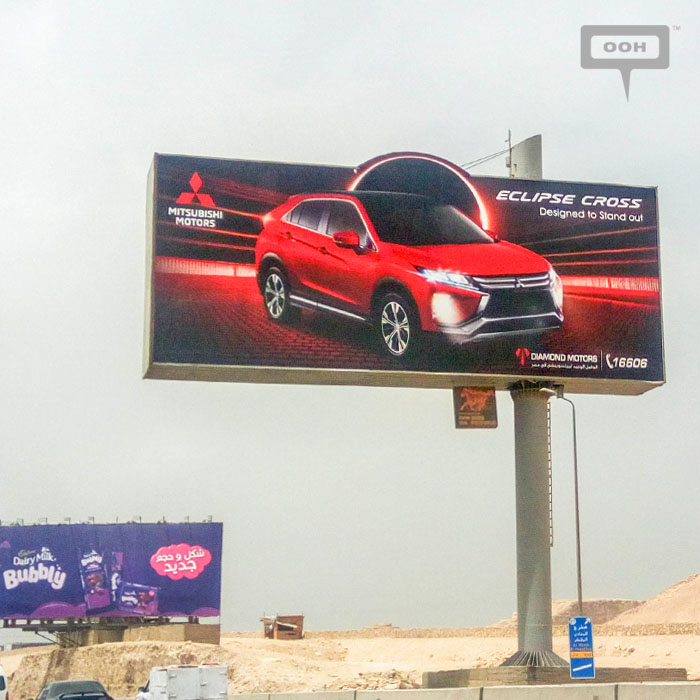 Diamond Motors reveals OOH campaign for new Mitsubishi Eclipse