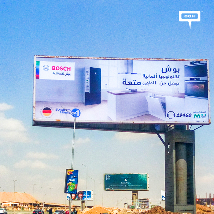 MTI promotes Bosch appliances with new OOH