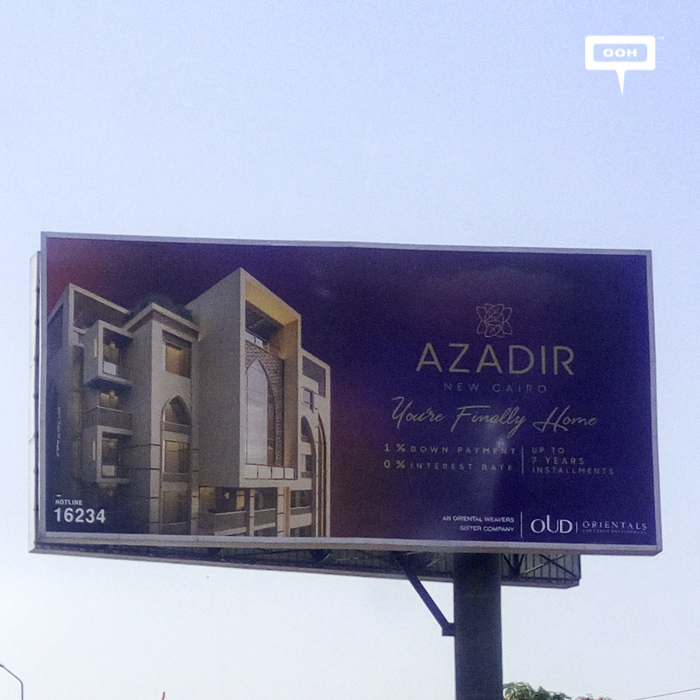 OUD keeps strong OOH campaign for AZADIR during May