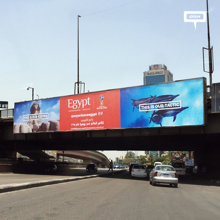 Experience Egypt supported the National Team with OOH