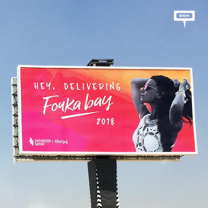 Fouka Bay is back with new OOH campaign