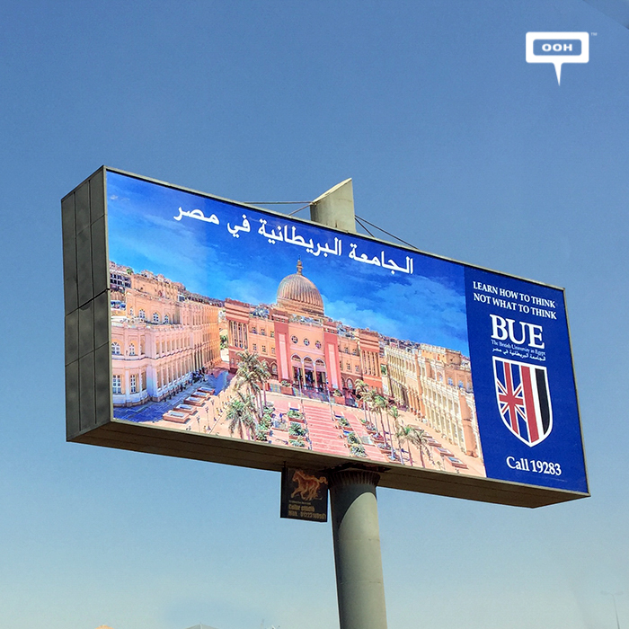 BUE comes back with OOH for the new school year