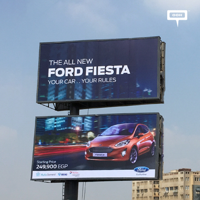 Auto Jameel presents the latest Ford models with OOH