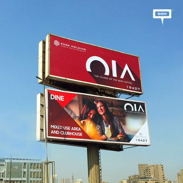OIA comes back to the billboards with new visuals