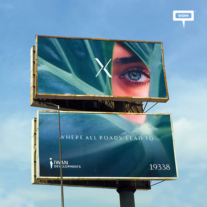 Iwan presents new project with teaser OOH campaign
