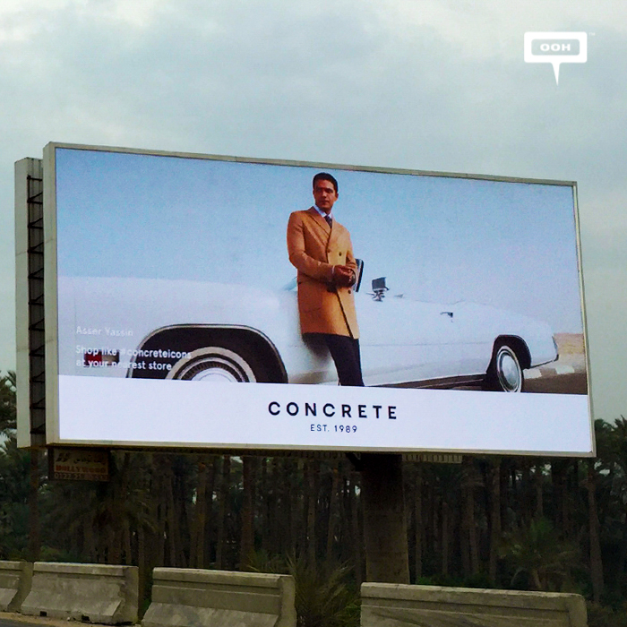 Concrete presents Fall/Winter collection with OOH