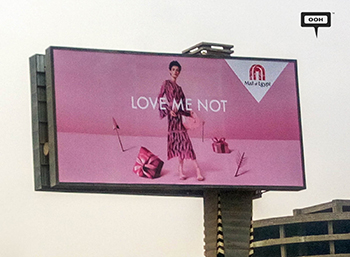Mall of Egypt celebrates Valentine's with new OOH campaign