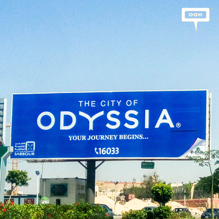 Sabbour's OOH campaign for Odyssia ranks #1 again in May
