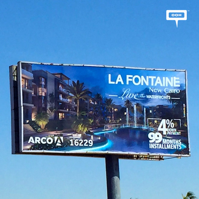 ARCO reignites OOH promotion of La Fontaine