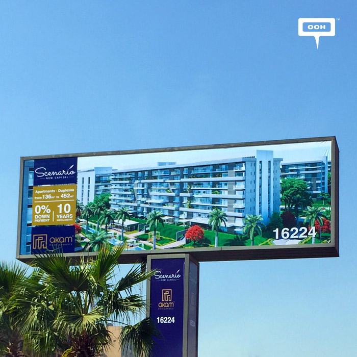 AKAM adds visuals to Scenario's Out-Of-Home campaign