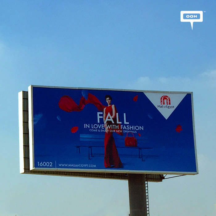 New OOH from Mall of Egypt for Fall and Black Friday