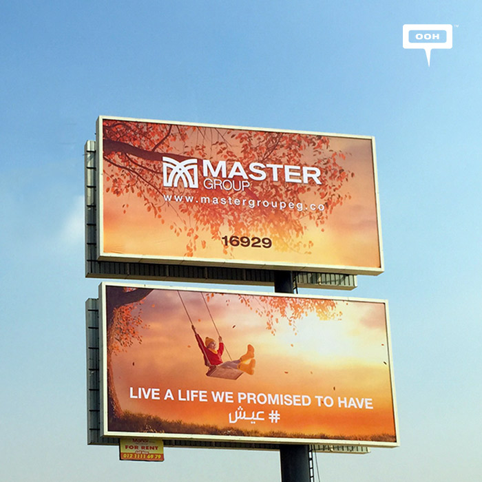 Master Group builds brand positioning with new OOH