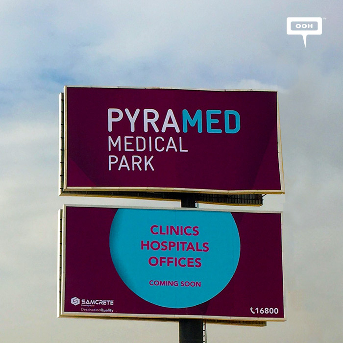 Samcrete announces Pyramed with outdoor campaign