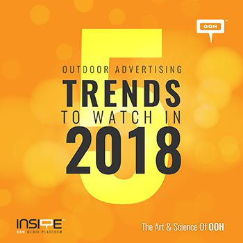 5 Outdoor Advertising Trends to watch in 2018