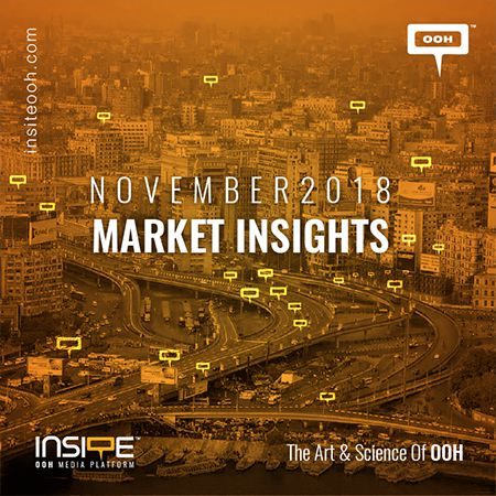 OOH MARKET INSIGHTS NOVEMBER 2018