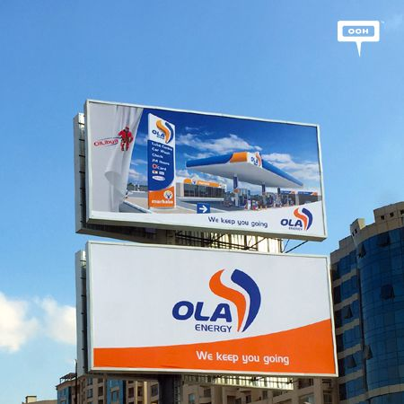OOH presents Oilibya's rebranding to OLA Energy