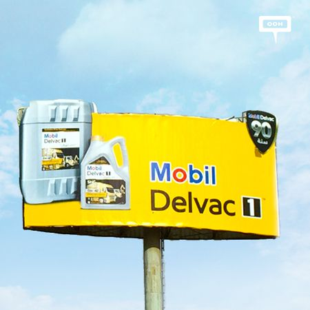 New OOH campaign from Mobil Delvac gives away car blankets