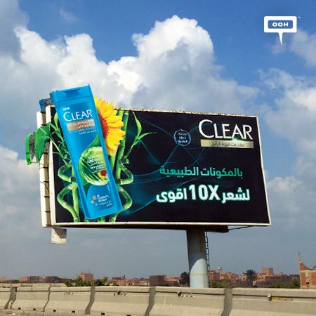 Unilever presents the new Clear shampoos for x10 stronger hair