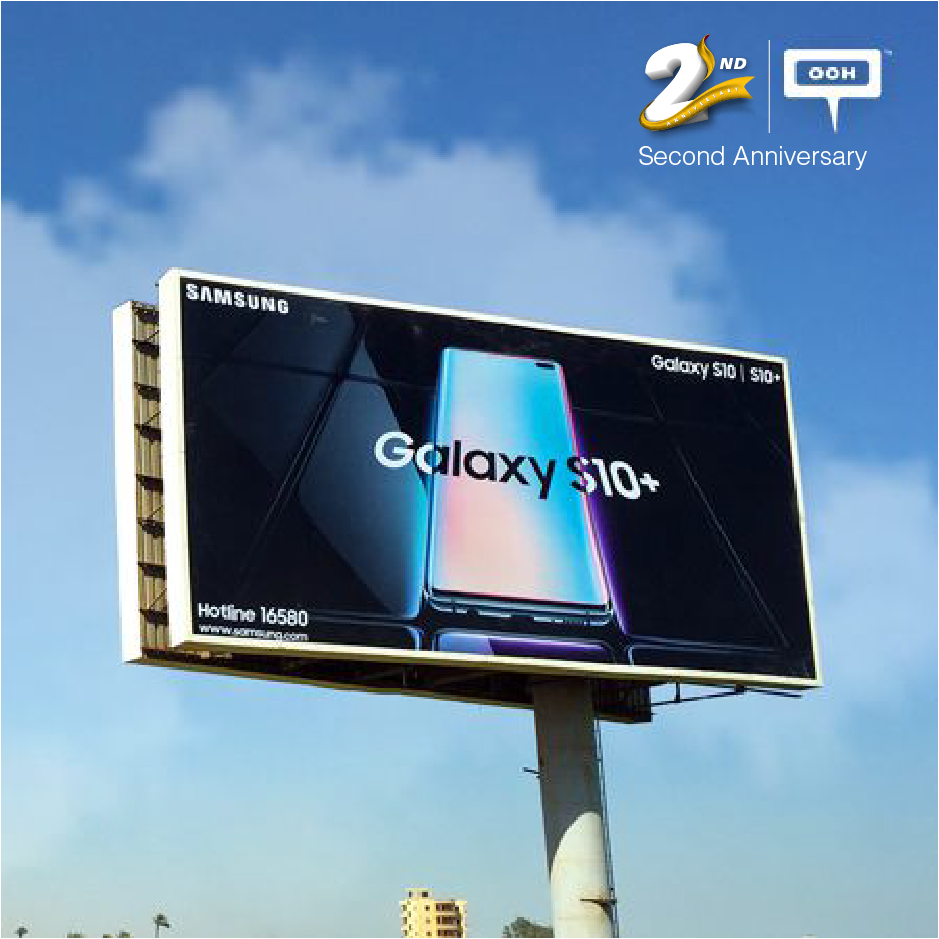 Samsung presents new S10 & S10+ with OOH campaign