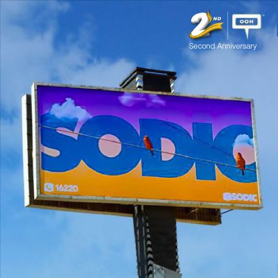 New branding campaign from SODIC on Cairo billboards