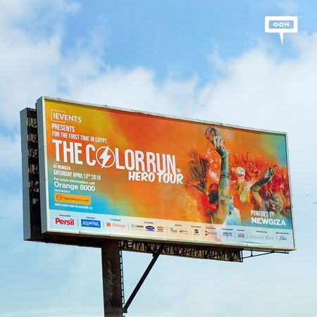 The Color Run is happening in Egypt for the first time