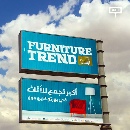 "Furniture Trend promotes ""The biggest furniture collection"""