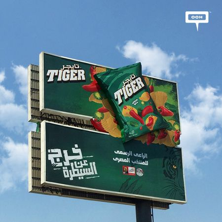 Tiger goes out of control and sponsors Egypt's national team