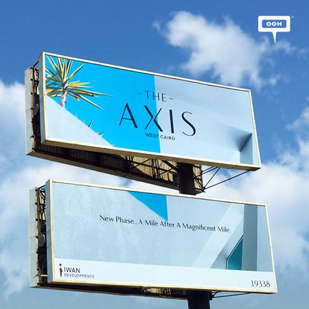 Iwan perfectly cuts the billboards into two just for The Axis