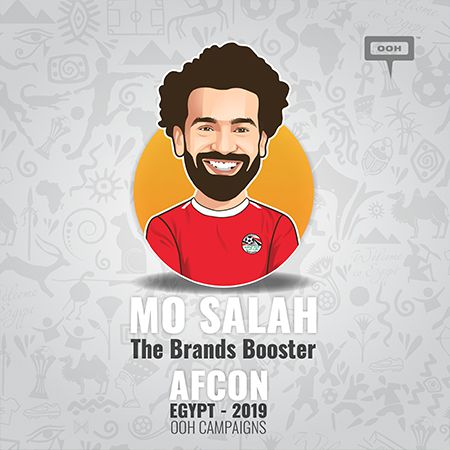 Mo Salah is also a brands' booster on the OOH scene of Cairo during the AFCON 2019!
