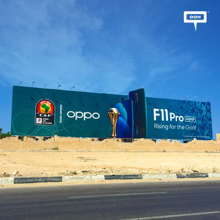 "OPPO F11 Pro is ""Rising for the goal"" in the AFCON 2019"