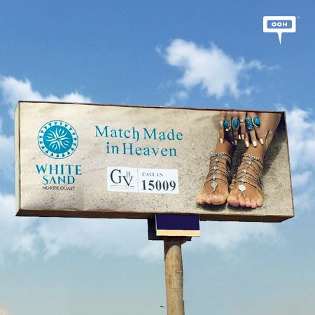 GV Developments presents White Sand with a huge OOH campaign