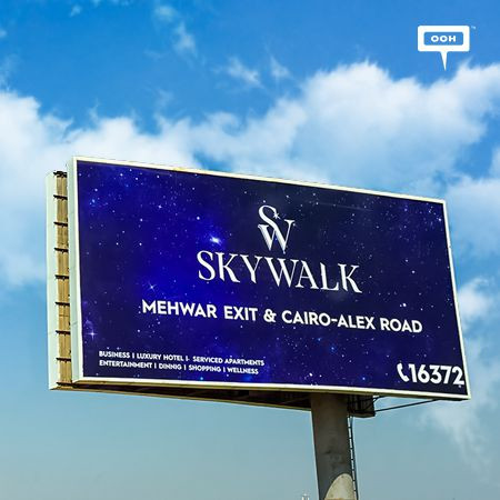 Skywalk reinforces their project with an OOH campaign
