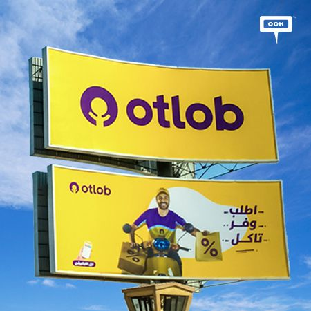 "Otlob's outdoor campaign encourages to ""Order.. Save.. Eat"""