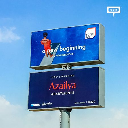 "SODIC East brings ""A new beginning at new Heliopolis"" on an OOH campaign"
