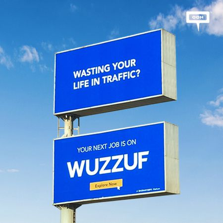 WUZZUF proves how much they know their audience on an OOH campaign
