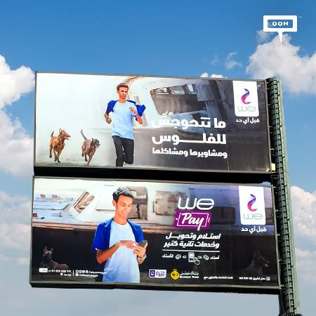 WE hits Cairo's billboards to launch WE Pay