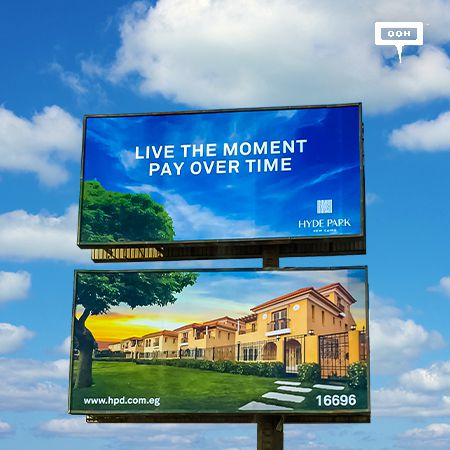 """Live the moment pay over time"" with Hyde Park New Cairo"