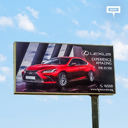 The 2020 Lexus LX570 & ES350 have arrived on an OOH campaign